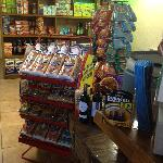 Check our convenience store for your household needs, snacks, wine, beer and spirits!