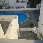 View of the pool from my terrace