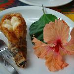 Caribbean lobster tail