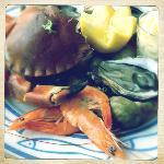 Seafood platter (special starter)