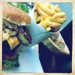 Foie gras burger...bliss