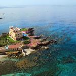 Villa Las Tronas Hotel & Spa - Alghero (aerial view of the property, from North)