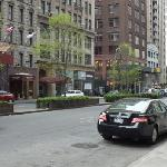 Park Avenue na frente do hotel
