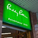 Entrance to Paddy Palin