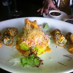 the green papaya roll. yum!
