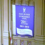 banner on side wall
