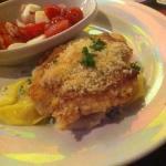 Underprepared Parmesan Crusted Chicken
