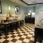 Free breakfast area.