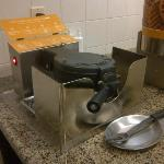DIY waffle station!