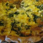 yummt quiche along with many other breakfast items!