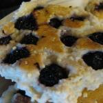 huckleberry pancake - soooooo goooood!
