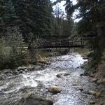 The river near the condo!
