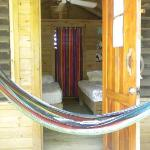 view inside our bungalow