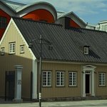 Located in Historic House Reconstructioned