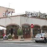 The Meson del Rey is off the main streets of Santa Ponsa - look for it next to the Pionero Hotel