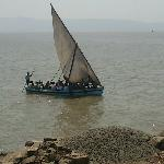 The sail boat (ferry) to Janjira Fort