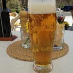 Pivo at terrace