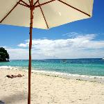 Alona beach, taken from Henann sunbeds
