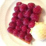 My favorite raspberry tart