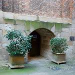 Little alcove in the front of the church