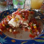 Breakfast Burrito with Fresh Salsa