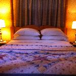 Main bedroom in Dove Cottage