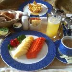 desayuno a la habitación