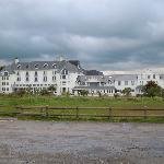 Garryvoe Hotel from the beach