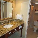 clean, well kept bathrooms recently updated