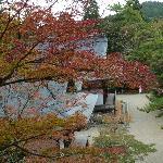 Sicht von der Haupthalle Kondo aus