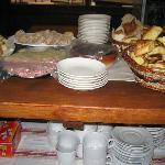 UNa pequeña parte del desayuno
