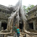 The tour to Ta Prohm