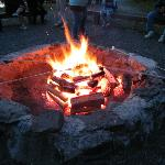 Great BBQ pit for smores