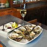 Thursdays we have Fresh Live BC Oysters