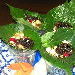 One of the starter - Mieng Kam