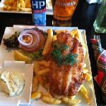 Fish & Chips at Pipes of Scotland