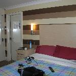 double room, great size, modern, cosy and clean