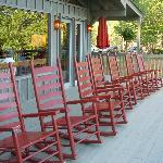 rocking chairs with a view