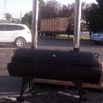 Love the look of the smoker
