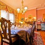 Dining Room for Tea and Breakfast Newport RI