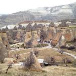 Fairy chimneys rock formation
