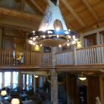 View of main lodge