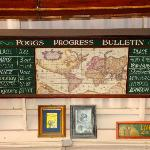 P Fogg's travel schedule