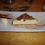 One of the varied desserts served in the Grove Restaurant at Alvaston Hall
