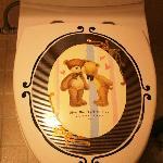 Toilet deco