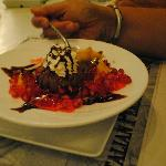 le dessert au resto