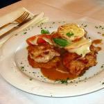 schmackhaftes Gericht im Gasthof Jägerwirt in Egling