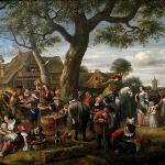 Jan Steen, The Fair at Warmond, 1676