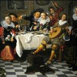 Isaac Elias, Celebrating Company, 1629