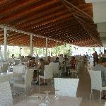sala pranzo esterna hotel